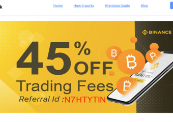 We are now offering free one-on-one lessons about Binance Discount